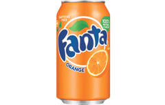Foto Fanta orange (33 cl)